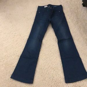 Like new flare gap jeans